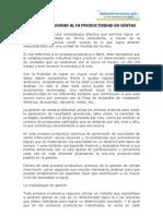 CLAVES PARA LOGRAR ALTA PRODUCTIVIDAD EN VENTAS.doc