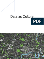 Friday lunchtime lecture - Data as Culture