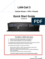 QuckStart Guide for Proxicast's LAN-Cell 3 Mobile 3G/4G VPN Cellular Router