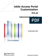 CP R75.40 MobileAccess PortalCustomization