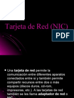 Tarjeta de Red (NIC)