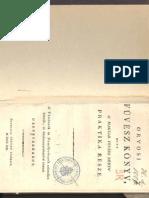 Orvosi füvészkönyv Csáthy György 1893