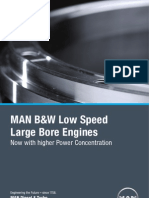 Low Speed Large Bore Engine