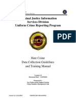 FBI Hate Crime Data Collection Guidelines and Training Manual (2012)