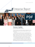 AEI Enterprise Report, Summer 2012