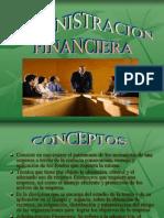 ADMINISTRACION FINANCIERA presentacion