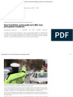 Noul Cod Rutier a fost publicat în MO