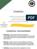 Epidemiología y Estadística Esp