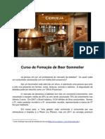 Curso de Fomação de Beer Sommelier - PRESS RELEASE