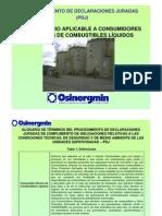 Cuestionario de Consumidor Directo de Combustibles Liquidos