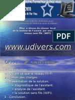 Mise a Niveau Du réseau Local de La Maison de assur Par Une Solution réseau Sans Fils (WiFi)