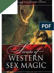 Secrets of Western Sex Magic by Frater U.D.