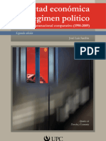 Libertad económica y régimen político - 2da edición