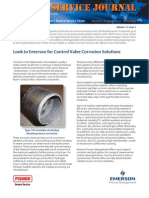 Control valve corrosion solutions