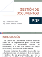 Gestion de Documentos Segun Normas Iso Presentacion