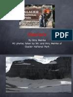 glaciers keynote