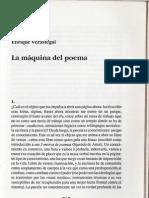 The Machine of the poem -Enrique Verástegui