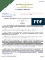 Lei de Licitação Consolidada- 8666-Jan/2013