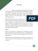 Dinamica Del Proceso Administrativo