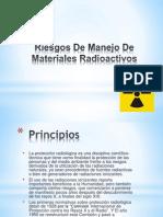 Riesgos de Manejo de Materiales Radioactivos