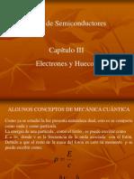 Electrones y Huecos-II