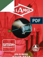 Material Laboratorio ALAMO 2012