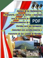 Reglamento Transporte Hidrocarburos por Ductos