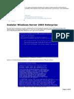 Intalacion Windows Server