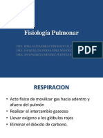 Fisiología Pulmonar CC