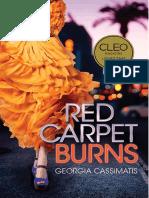 Red Carpet Burns by Georgia Cassimatis - Chapter Sampler