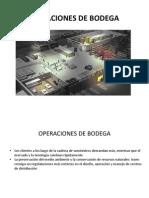 Operaciones de Bodega