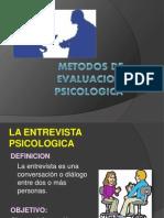 PSICOLOGICA ENTREVISTA