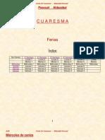Cuaresma - Ferias - Pascual Aldazabal