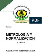 APUNTES 1ra Unidad de Metrologia y Normalizacion