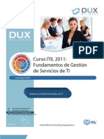 Curso ITIL Fundamentos