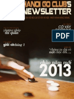 Bản tin clb Cờ Vây Hà Nội số 15 - tháng 1/2013