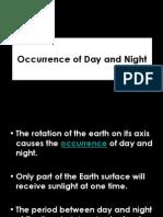 kejadian siang dan malam