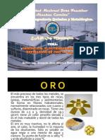 DESORCION ELECTRODEPOSICIÓN Y REFINACION DE ORO Y PLATA 17-11-12