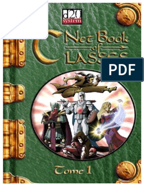 Netbook of Classes | Dungeons & Dragons | Gary Gygax Games