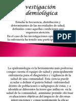 investigación epidemiológica