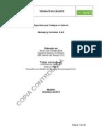 Proced Trabajos en Caliente Montajes y Contratos S.a.S
