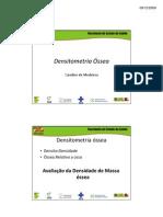 Densitometria ossea