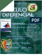 Portafolio de Calculo Diferencial de 2C Parraga Garcia Pablo