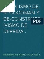 Putnam sobre Goodman y Derrida .