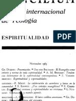 Concilium - Revista Internacional de Teologia - 009 Noviembre 1965