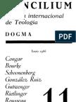Concilium - Revista Internacional de Teologia - 011 Enero 1966