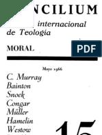 Concilium - Revista Internacional de Teologia - 015 Mayo 1966