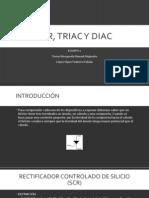 Scr, Triac y Diac