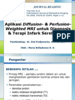 Aplikasi Diffusion- & Perfusion-Weighted Magnetic Resonance Imaging Untuk