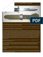 U.S. M5A1 Garand Rifle Bayonet
